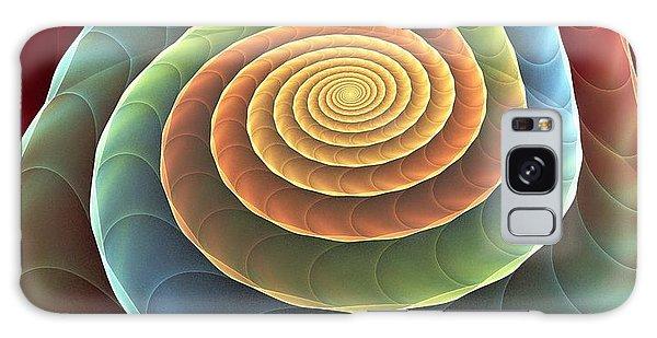 Rolling Spiral Galaxy Case by Anastasiya Malakhova