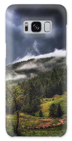 Rolling Through The Trees Galaxy Case