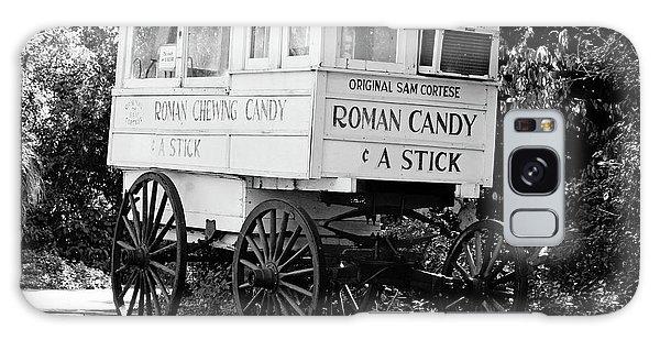 Roman Candy - Bw Galaxy Case