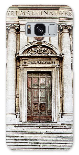 Roman Doors - Door Photography - Rome, Italy Galaxy Case