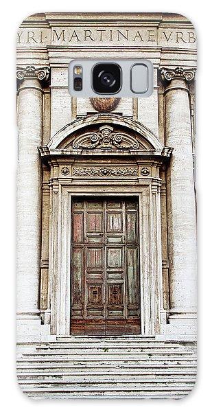 Roman Doors - Door Photography - Rome, Italy Galaxy Case by Melanie Alexandra Price