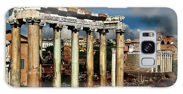 Roman Forum Galaxy Case by Harry Spitz
