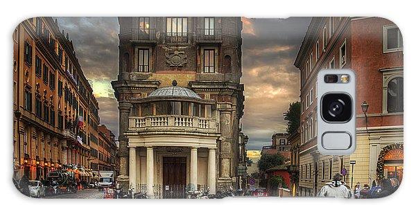 Roman Streets Galaxy Case