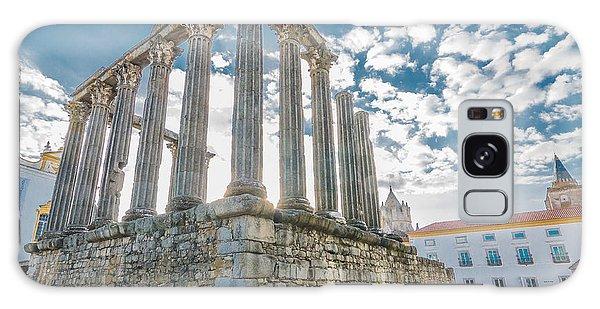 Roman Temple At Evora Galaxy Case