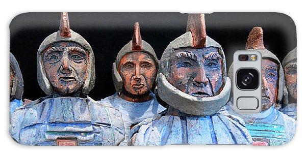 Roman Warriors - Bust Sculpture - Roemer - Romeinen - Antichi Romani - Romains - Romarere Galaxy Case