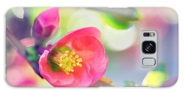 Romancing Spring I Galaxy Case