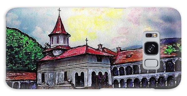 Romanian Monastery Galaxy Case