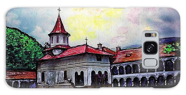 Romanian Monastery Galaxy Case by Sarah Loft