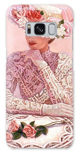 Romantic Lady Galaxy Case by Sue Halstenberg