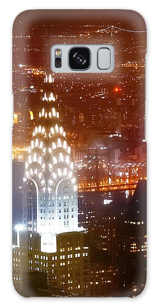 Chrysler Building Galaxy Case - Romantic Manhattan by Az Jackson