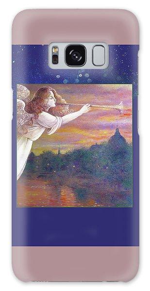 Romantic Paris Nocturne With Angel Galaxy Case