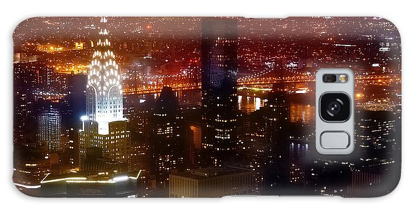 Chrysler Building Galaxy S8 Case - Romantic Skyline by Az Jackson