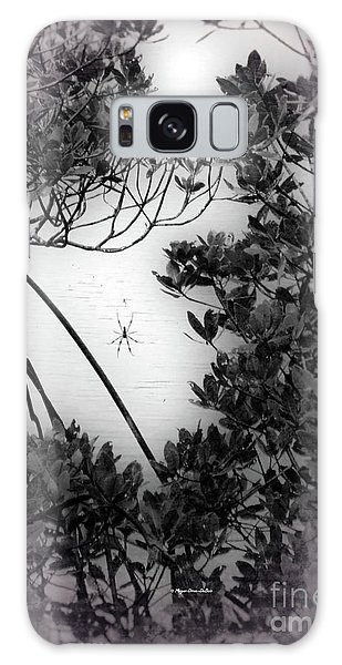 Galaxy Case featuring the photograph Romantic Spider by Megan Dirsa-DuBois