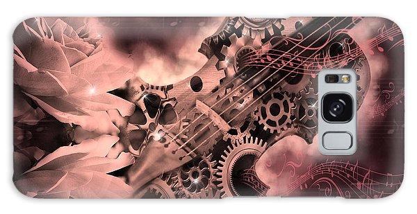 Romantic Stemapunk Violin Music Galaxy Case