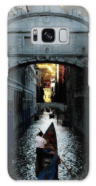 Romantic Venice Galaxy Case