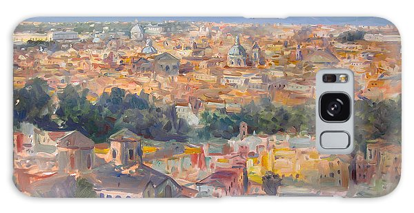 View Galaxy Case - Rome View From Gianicolo by Ylli Haruni