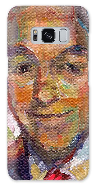Ron Paul Art Impressionistic Painting  Galaxy Case