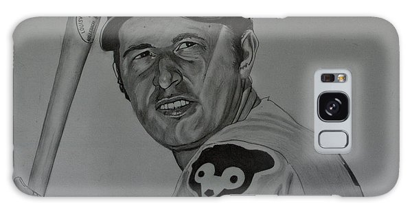 Ron Santo Portrait Galaxy Case