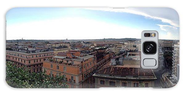Rooftops Of Rome Galaxy Case