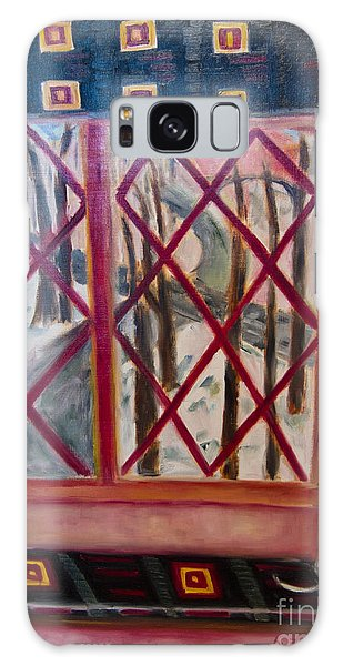 Online Shopping Cart Galaxy Case - Room With A View by Karen Francis