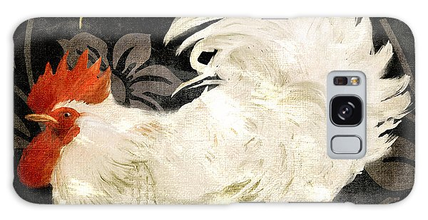 Rooster Damask Dark Galaxy Case by Mindy Sommers