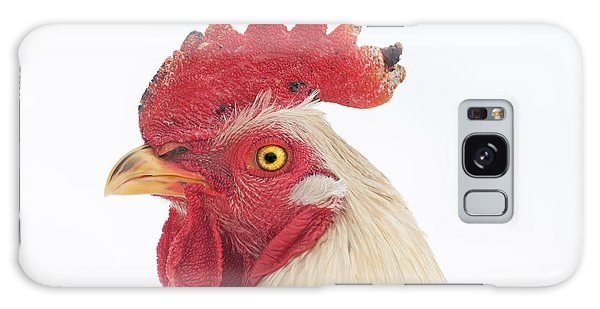 Rooster Named Spot Galaxy Case