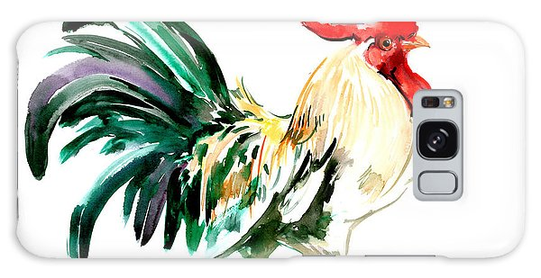Rooster Galaxy Case by Suren Nersisyan