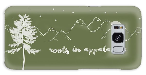 Roots In Appalachia Galaxy Case by Heather Applegate