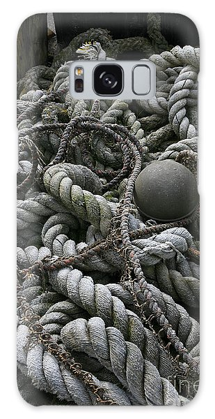 Ropes And Lines Galaxy Case