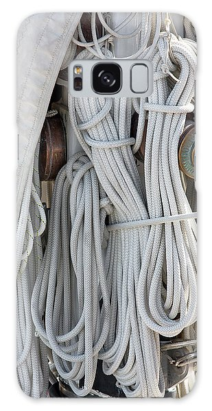 Ropes Of A Sailboat Galaxy Case