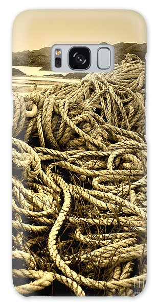 Ropes On Shore Galaxy Case