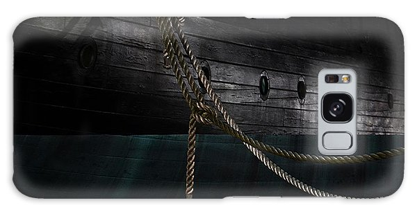 Ropes On The Uss Constellation Navy Ship Galaxy Case