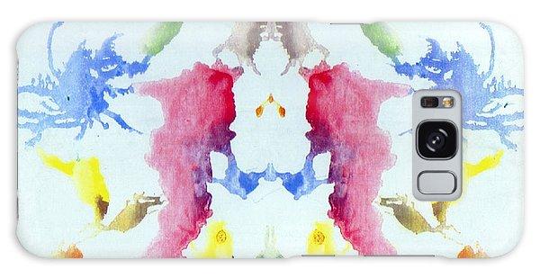 Rorschach Test Card No. 10 Galaxy Case