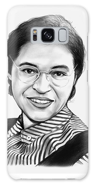 Rosa Parks Galaxy Case by Greg Joens