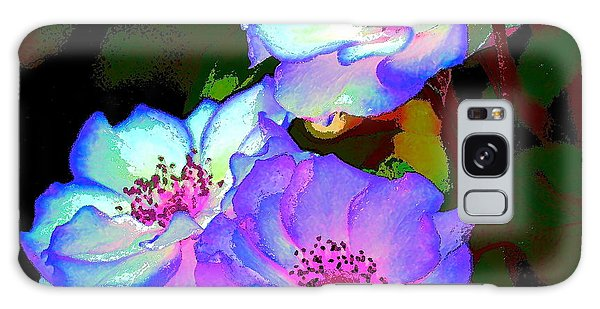 Rose 127 Galaxy Case by Pamela Cooper