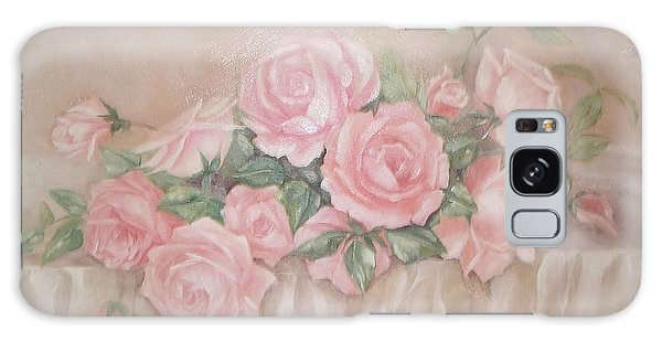 Rose Abundance Painting Galaxy Case