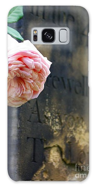 Rose At The Grave Galaxy Case