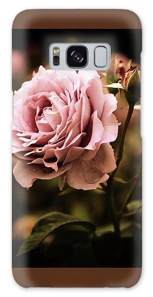 Rose Blooms At Dusk Galaxy Case by Jessica Jenney