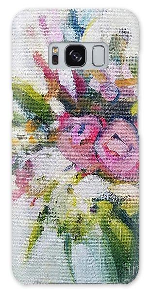 Rose Bouquet Flower Color Spring Galaxy Case