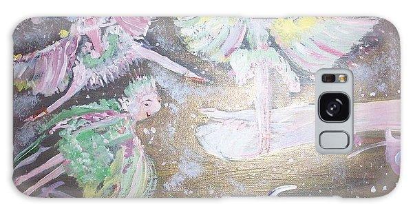 Rose Fairies Galaxy Case by Judith Desrosiers