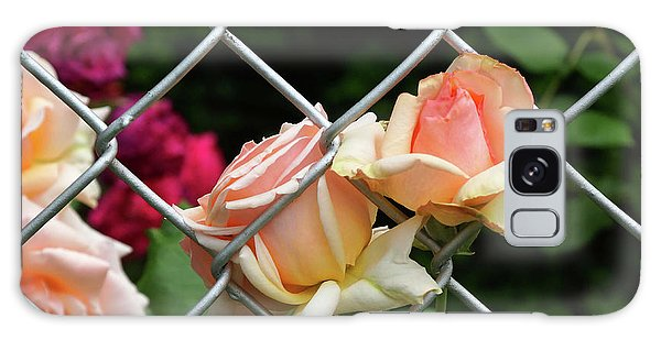 Rose Fence Galaxy Case