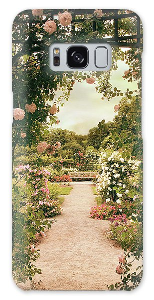Galaxy Case featuring the photograph Rose Garden Grace by Jessica Jenney