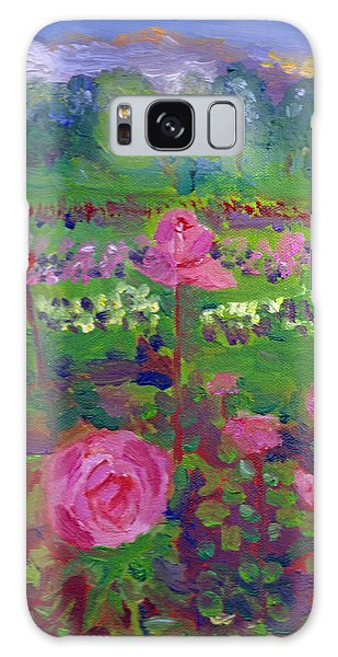 Rose Gardens In Minneapolis Galaxy Case