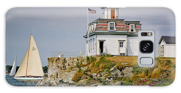 Rose Island Light Galaxy Case by Susan Cole Kelly