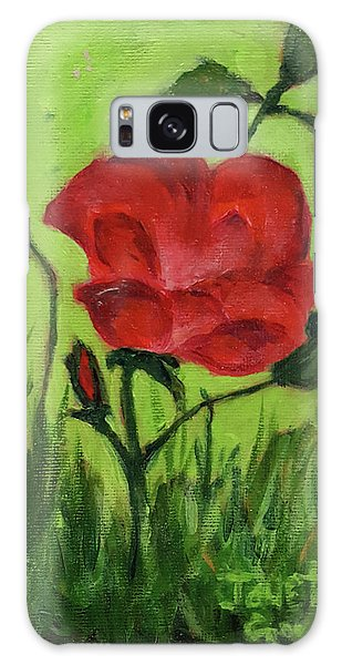 Rose Galaxy Case by Janet Garcia