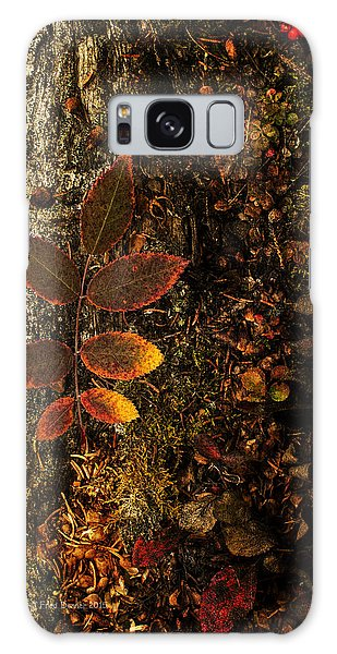 Rose Leaf And The Forest Floor Galaxy Case