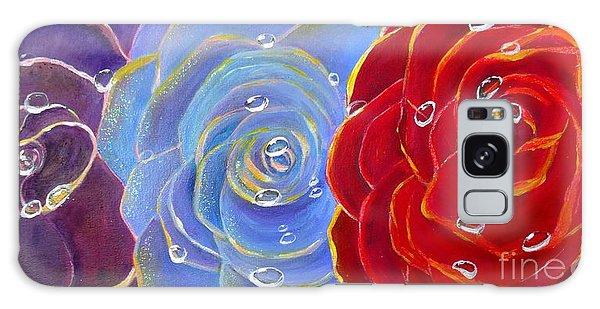 Rose Medley Galaxy Case