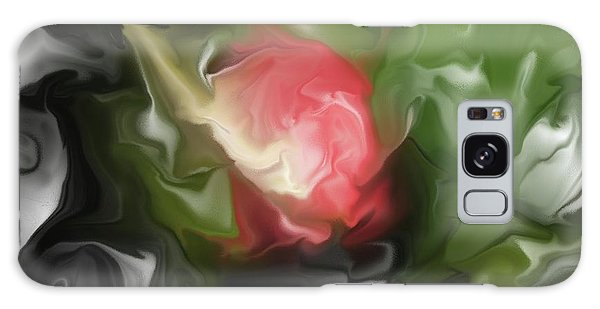 Rose On Troubled Water Galaxy Case by Hai Pham