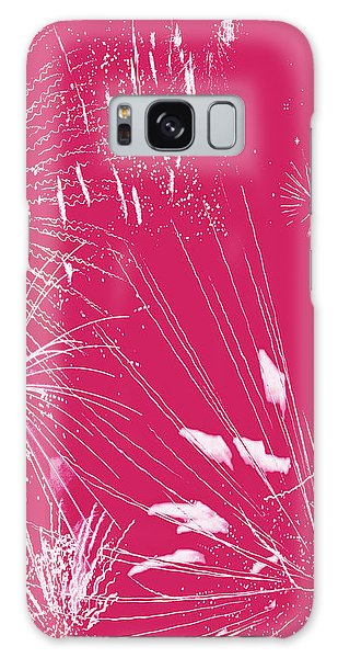 Rose Splash Galaxy Case by Methune Hively