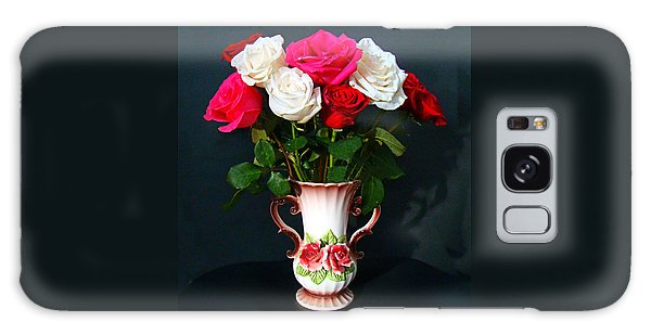 Rose Vase Galaxy Case by Nick Kloepping